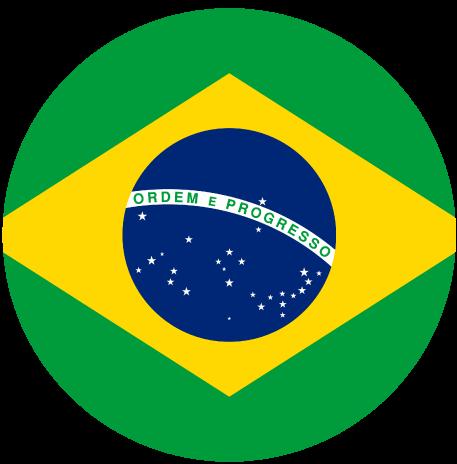 Logo bandera Brasil