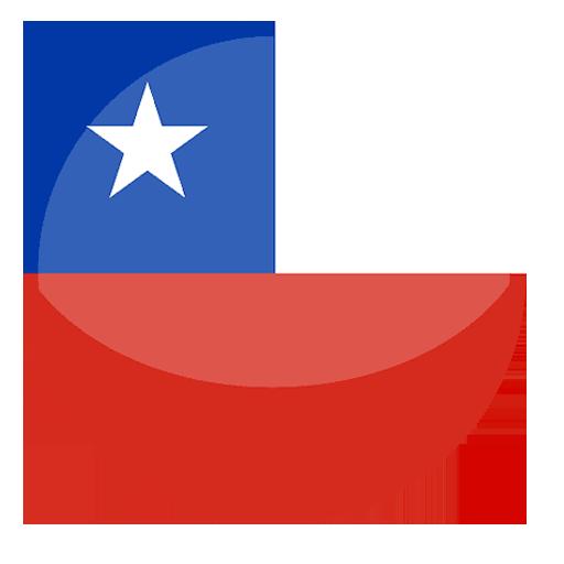 Logo bandera Chile