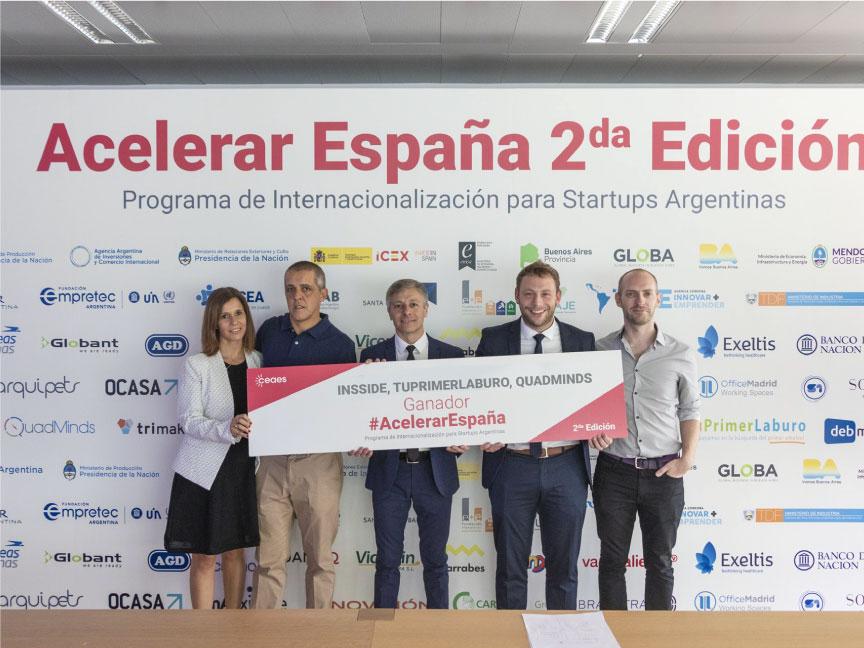 Insside Información Inteligente ganador Acelerar España 2da Edición