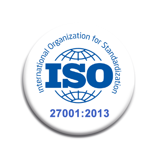 Logo certificacion ISO 27001